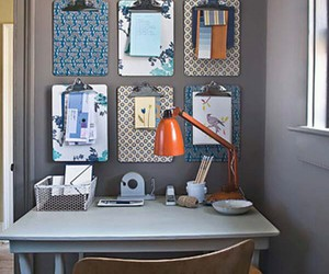 diy, decor, and office image