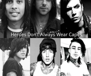 alex gaskarth, bands, and heroes image