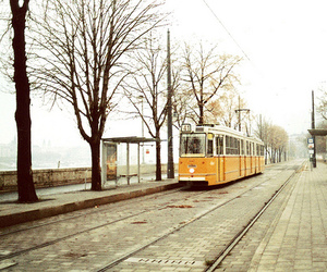 budapest, train, and tram image
