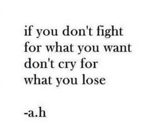 fight, cry, and lose image