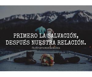 god, relacion, and salvacion image