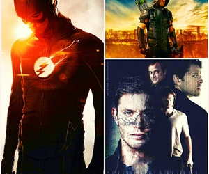 arrow and supernatural image