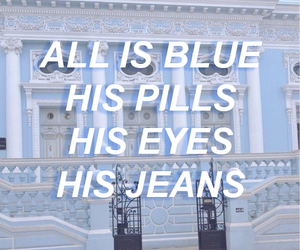 aesthetic, blue, and eyes image