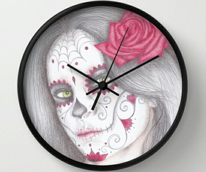 art, click, and day of the dead image