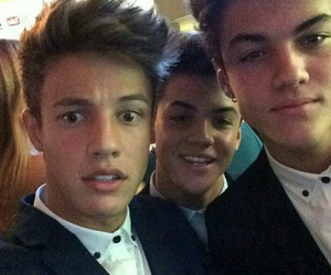 cameron dallas, grayson dolan, and ethan dolan image