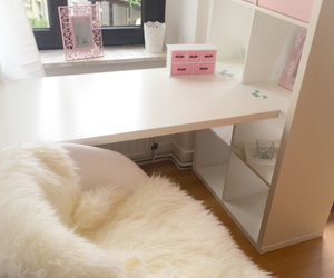 girly, ikea, and pink image