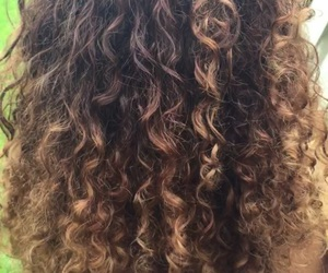 hair, curly, and girly image