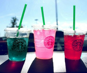 Cocktails, starbucks, and friends image