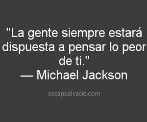 frases and michael jackson image