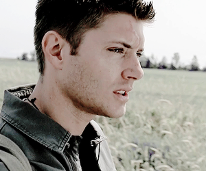 dean winchester, guy, and hunter image