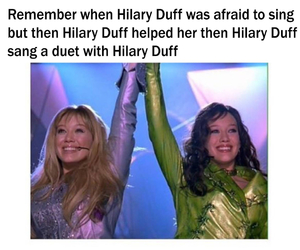 funny, disney, and Hilary Duff image