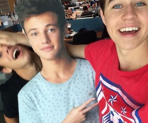 nash grier, cameron dallas, and magcon image