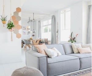 decor, living room, and home image