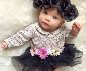 black, baby, and cute image