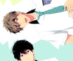 anime, free!, and nanase haruka image