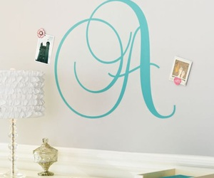 cursive, initials, and preppy image