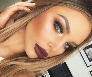 fall, girly, and makeup image