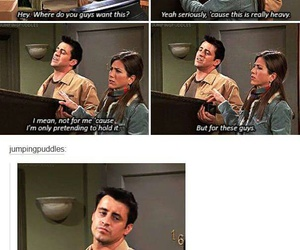 funny, joey tribbiani, and friends image