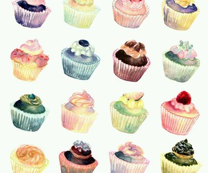 cupcake and art image