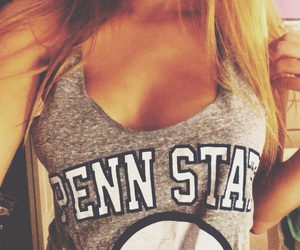 college, football, and Penn State image