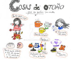 autumn, cocoa, and dia de muertos image