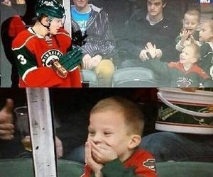 hockey, child, and player image