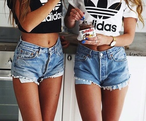 adidas, nutella, and friends image