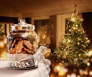 christmas, Cookies, and light image