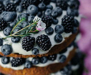 autumn, sweets, and blackberries image