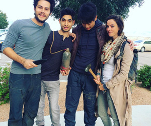 KAYA SCODELARIO, dylan o brien, and maze runner image