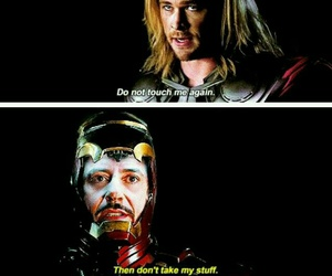 thor, Avengers, and funny image