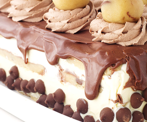 chocolate, cake, and cookie dough image