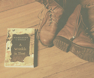 vintage, book, and boots image