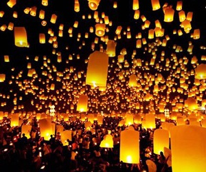 romantic, wow, and many lights image