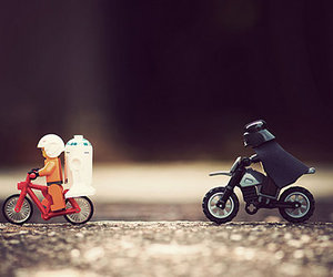 bicycle, lego, and photography image