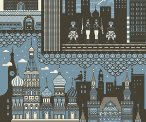 moscow, building, and city image