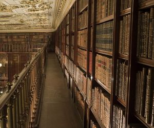 chatsworth house, europe, and library image