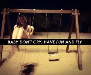 cry, free, and fun image