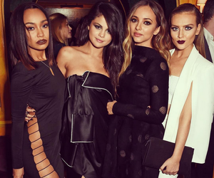 selena gomez, little mix, and perrie edwards image