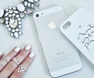 white, fashion, and iphone image