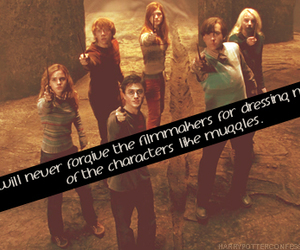 harry potter and never image