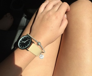 watch bracelet tan image