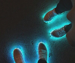 light, fashion, and shoes image