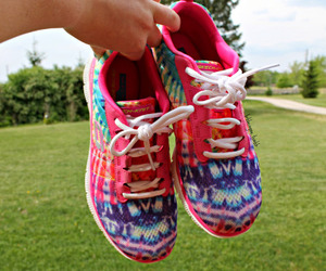 colorful, shoes, and sport image