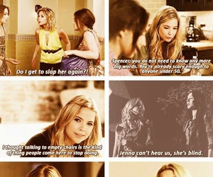 pll, blonde, and funny image