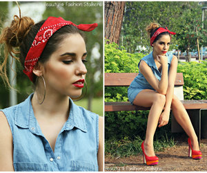 classic, Pin Up, and redlips image