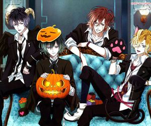 diabolik lovers, anime, and Halloween image
