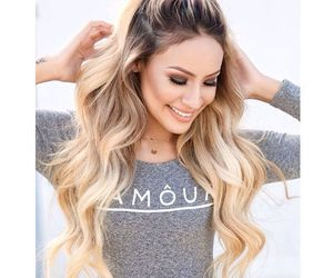 ariana grande, hair, and blonde image
