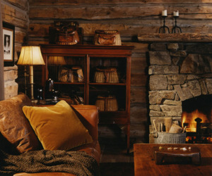 cozy, sweet home, and fireplace image
