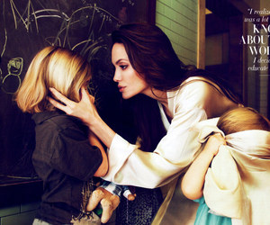 Angelina Jolie, family, and children image